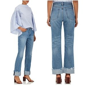 NWOT 3x1 New York XO Flare Crop Jeans
